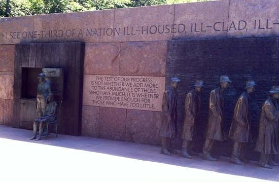 Franklin Delano Roosevelt Memorial: FDR photo