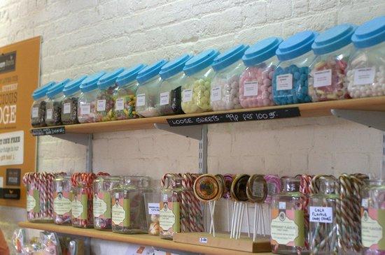 Wroxham Barns: Fudge and Sweet Shop