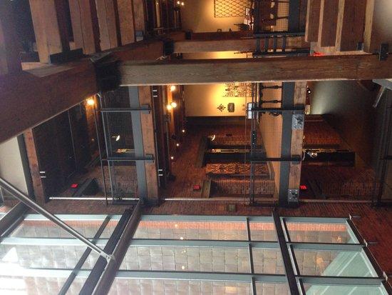 Senator John Heinz History Center: View from floor 6