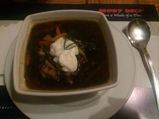 Moby Dick : Tasty beef goulash