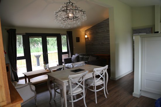 The Sherwood Hideaway: Lodge 13 - taken from the kitchen