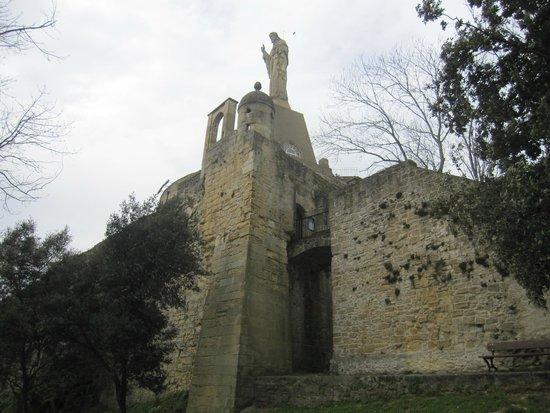 Monte Urgull : Castillo de la Mota