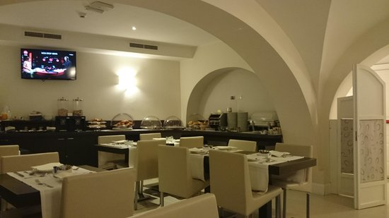 Demetra Hotel: Breakfast area