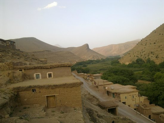 Gite Tigmi Azrur : Panorama von der Terrasse