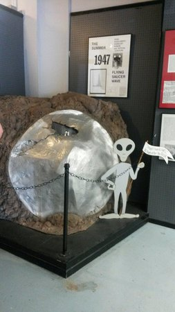 Roswell, NM: The first thing you see in the museum