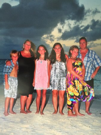 Beaches Turks & Caicos Resort Villages & Spa : Family pic on the beach
