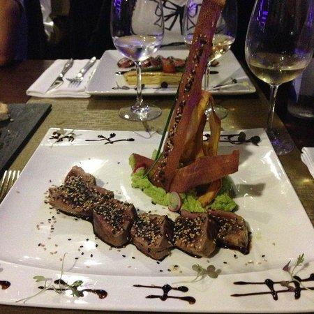 Bagua Lounge Bar & Restaurant: Magret de pato