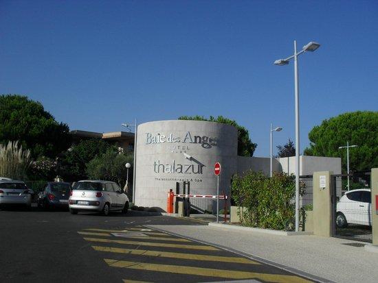 Hotel Baie des Anges : Entrata Resort