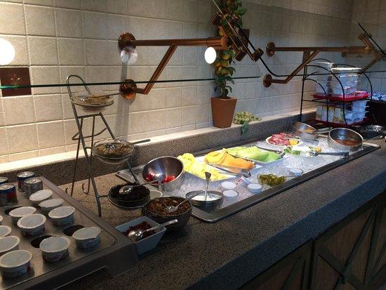 Hilton Austin Airport: Breakfast buffet