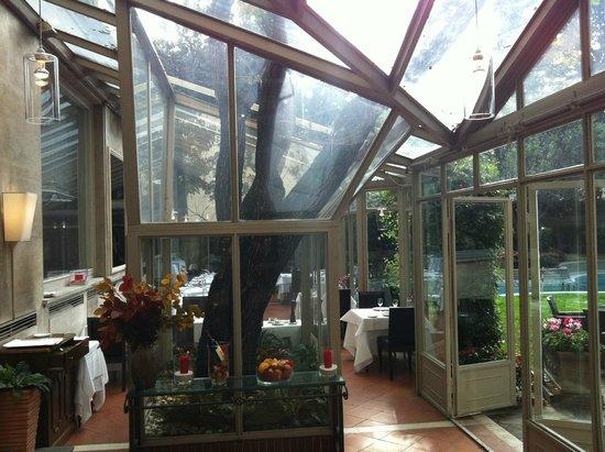 Sina Villa Medici: sala colazioni