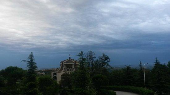 Valdragone, San Marino: Вид из окна