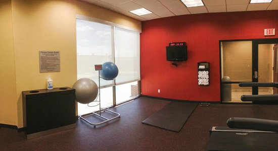 Courtyard Killeen : Great gym space for aerobics and yoga