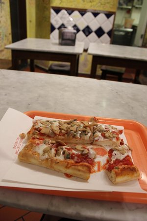 Pizzeria A Taglio : my slice