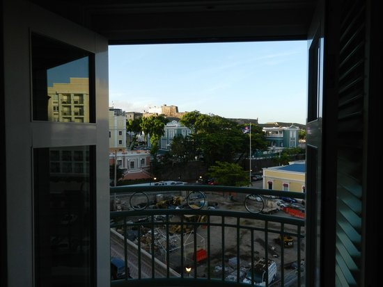 Sheraton Old San Juan Hotel: View from Balcony of Junior Suite