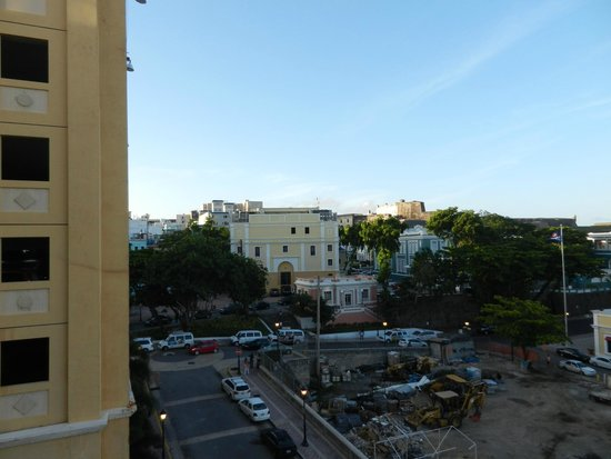 Sheraton Old San Juan Hotel: View to the North from Balcony