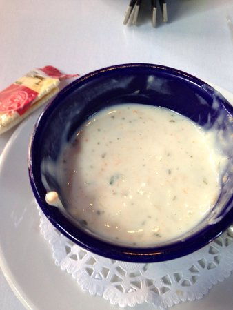 Full Moon Cafe: Crab soup special