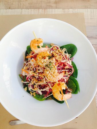Milwaukee Cafe: Salade Thaï