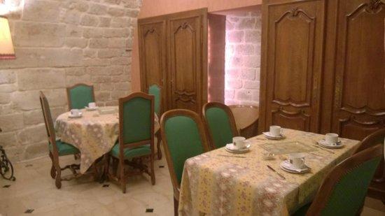 Hotel du Palais Bourbon: Breakfast room