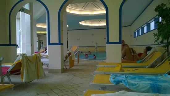 Hotel Terme Helvetia: Piscina termale interna