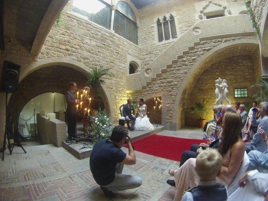 RV Hotel Palau Lo Mirador: The ceremony