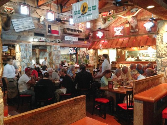 Saltgrass Steak House: A great place for families and groups with a fun, energetic atmosphere.