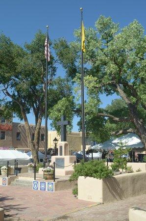 Taos Plaza : la piazza