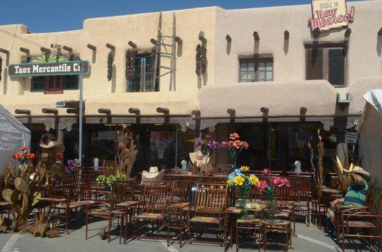 Taos Plaza : negozi