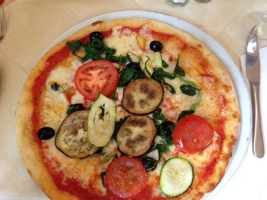 Donatello : Vegetarian pizza