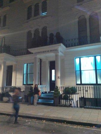 London House Hotel: ingresso
