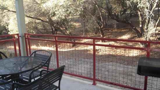 Angels Camp, Калифорния: Balcony view from room