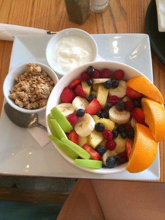 Fruit salad. DO IT.