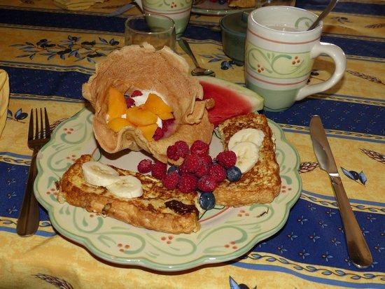 Gite Reve et Realite: Petit déjeuner