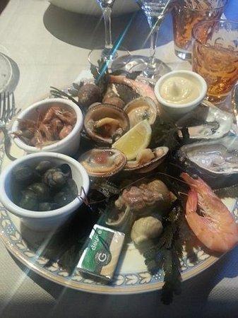 Cote Resto : Entrée fruits de mer