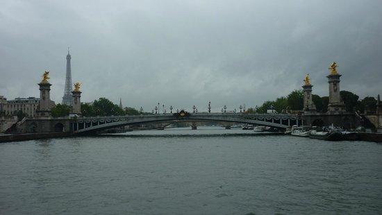 La Seine : la torre y el puente