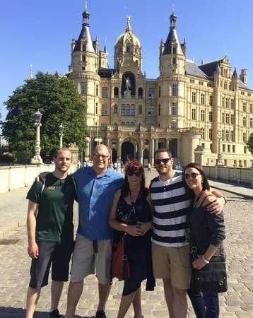 Friends of Dave Tours : Schwerin Castle