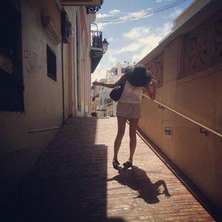 Old San Juan : Off Calle Luna