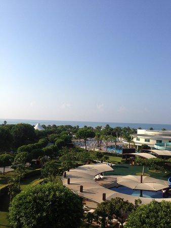 Calista Luxury Resort: Вид из номера