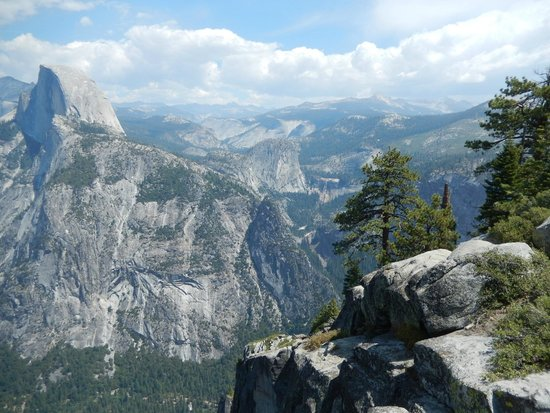 Discover Yosemite: From Glacier Point