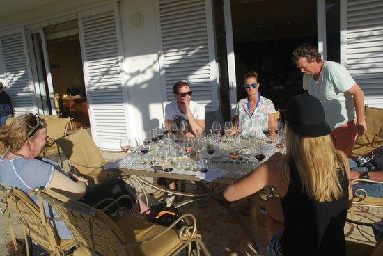 WedgeView Country House & Spa : Wijnproeverij in de omgeving