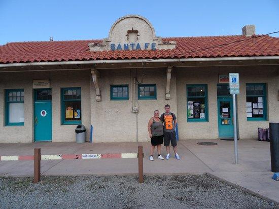 Albuquerque To Santa Fe >> Santa Fe Train Station Information Centre Picture Of New