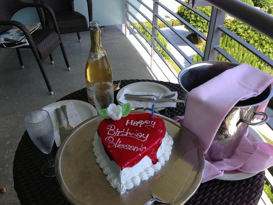 Calista Luxury Resort: Подарок от отеля)