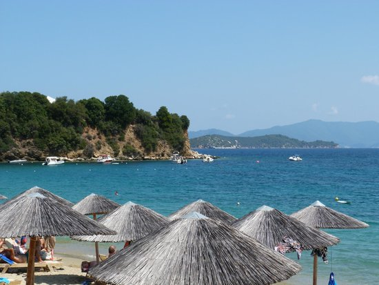 Villa Apollon Skiathos: Achladies beach