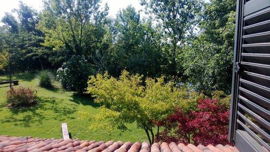 Cascina Papa Mora: Aprire la finestra la mattina e trovarsi in Paradiso!!!
