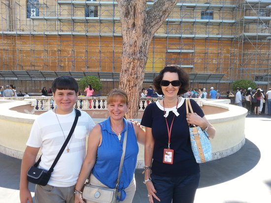 Tuscany in Tour: Rome with our Guide Simona