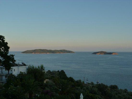 Villa Apollon Skiathos: View from hotel