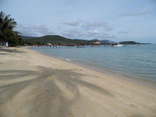 Saboey Resort and Villas : beach