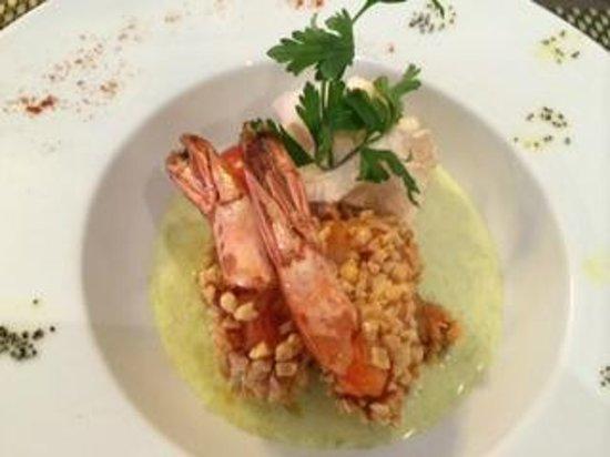 L'Alchimie Restaurant : Prawn Entree