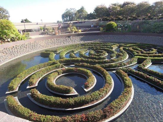 Getty Center : les jardins