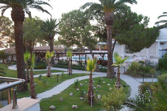 Atlantique Holiday Club: Jardin