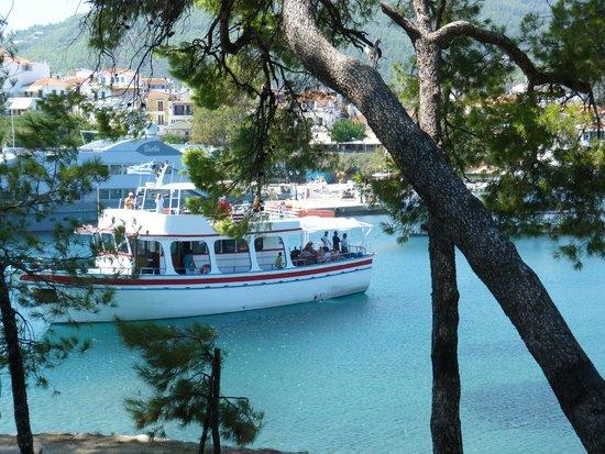 Villa Apollon Skiathos: View from The Bourtzi
